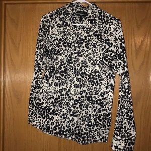 Jcrew printed blouse